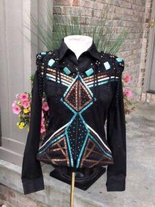 western pleasure belo vest