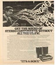 1978 Sony HMK-419 Home Stereo System All-In-One Vtg Print Ad