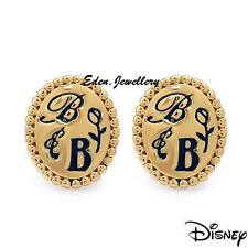 SALE Extremely RARE Disney Couture Beauty & the Beast Rose Gold Plated Earrings