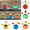 Solar Powered Dancing Flower Swinging Animated Dancer Toy Car Vehicle Home Decor