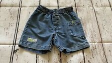 Naartjie baby boy jean shorts 12-18 months old Sp21A