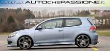 Coppia di minigonne in ABS con presa d'aria per VW Golf 6 dal 2008>