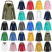 Damen Winter Parka Kapuzenmantel Windjacke Windbreaker Wanderjacke Outwear Top