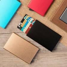 RFID Blocking Credit Card ID Holder Men Aluminum alloy Slim Travel Case Wallet