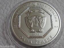 Ukraine 2016 1 UAH Archangel Michael UNC Oz 999 Pure Silver Bullion coin