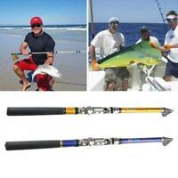 Portable Mini Pocket Telescopic Fish Pen Aluminum Alloy Fishing Rod Pole