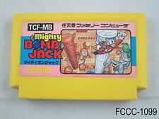 Mighty Bomb Jack Famicom Japanese Import Japan FC NES Nintendo US Seller C/Fair