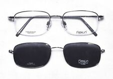 8d7f2bbb02 FLEXON Marchon 806MAG Eyeglasses frame 52-19-140 W  Magnetic Sunglasses Clip -