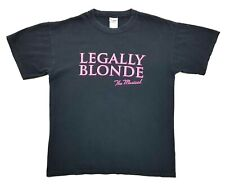 Vintage Legally Blonde The Musical Tee Black Size M Unisex T Shirt
