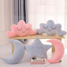 Soft Plush Home Decor Cartoon Pillow Cases Cushion Sweet Gift Star & Moon