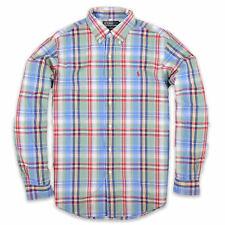 Ralph Lauren Herren Hemd Shirt Freizeithemd Gr.M Custom Fit Mehrfarbig 94138