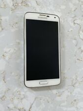 Samsung 4g lte Galaxy S5 White - With Charger - Verizon
