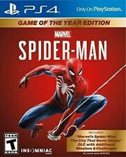 Brand New Marvel's Spider-Man PS4 Game of the Year Edition - Playstation 4
