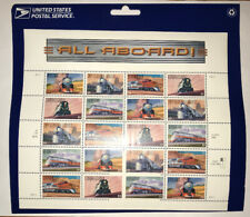 T-039 US#3333-7 Sheet Of 20 MNH Famous Trains - All Aboard