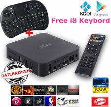 TVBOX MXQ S805 Android + tastiera.TV Box QUAD CORE,INTERNET,CONNESSIONE WIFI HD