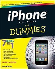 iPhone 4S All-in-One For Dummies, Boyd, Barbara, Hutsko, Joe, Good Condition, Bo