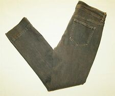 DKNY Skinny Jeans Womens Size 8 Faded Black Stretch W32 L29
