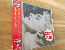 Madonna True Blue Japan WPCR-78122 Sealed Picture On OBI