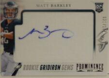 2013 Prominence Matt Barkley Rookie Gridiron Gems SP Rookie Autograph #/105