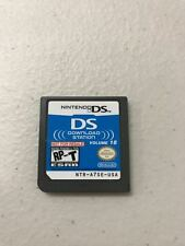Nintendo DS Download Station Volume 18 Not for Resale Card *VGWC*+Warranty!!