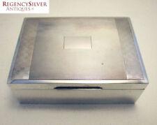 Art Deco Antique Silver Cigarette/Vesta Cases