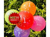 First 1st Birthday Number 1 Boy Girl Balloons Baby Party Baloon first number RFS