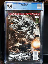 MOON KNIGHT #9  - CGC 9.4 NM  WHITE PAGES - PUNISHER