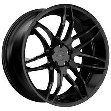 """4-NEW Ruff R960 20x8.5 5x114.3/5x4.5"""" +38mm Satin Black Wheels Rims"""