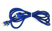 New listing 10ft Monster Playstation2 Ps2 Ps3 Hd Game Component Video Cable Gold