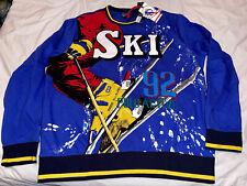 New listing NWT! POLO RALPH LAUREN LARGE SKI 1992 DOWNHILL SKIER SWEAT SHIRT