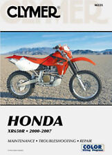 CLYMER REPAIR MANUAL Fits: Honda XR650R
