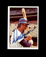Del Unser Hand Signed 1975 SSPC New York Mets Autograph