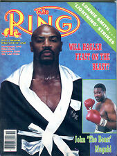 The Ring Boxing Magazine November 1985 Marvin Hagler EX 060616jhe