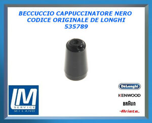 BECCUCCIO CAPPUCCINATORE NERO 535789 DE LONGHI ORIGINALE