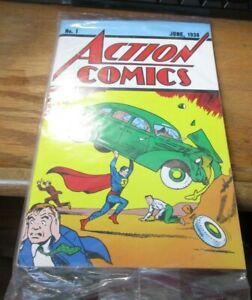 Superman Action Comics #1 Loot Crate June 1938 UNOPENED Reprint with COA!!!