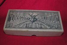 Vintage Black Dragon Spool Cotton Thread Box