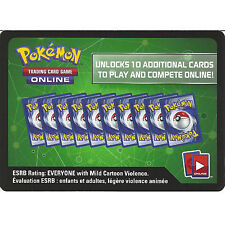 10x Pokemon Sun & Moon Crimson Invasion Code Cards SM-4 Trading Card Game Online