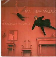 "<606>7 ""Single: Matthew Wilder - Bouncin' Off The Walls / Love Of An Amazon"
