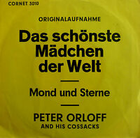 """7"""" 1967 RARE PETER ORLOFF Das schönste Mädchen der Welt"""