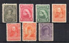 Canada - Newfoundland 1897-1918 values to 4c MLH/MH
