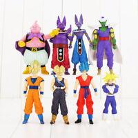 8 Dragon Ball Z Son Goku Frieza Super Saiyan Majin Boo Action Figure Playset Toy