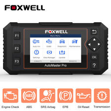 Automotive Scanner OBD2 Diagnostic Tool Engine ABS SRS EPB Oil Reset Auto VIN