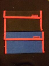 d6457e2fc580 Vintage Reebok Wallet 2 Wallet Brand New Black And Blue