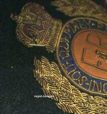 ORIGINAL ALTES Royal Engineers Wappen Honi Soit Chi Mal Y Pense - Hosenbandorden
