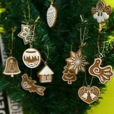 11PCS Christmas Ceramic Hanging Ornament Baubles Tree XMAS Decoration Hot sales