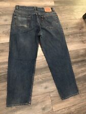 New listing Vintage 550 Relaxed Fit Levi's Men's 36 x 30 All Broken in Nice