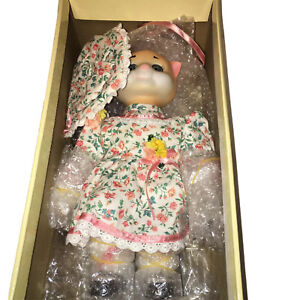 """Goebel Dolly Dingle Doll """"PUSSYKINS"""" Musical Pussy Cat Limited Edition 927/2000"""
