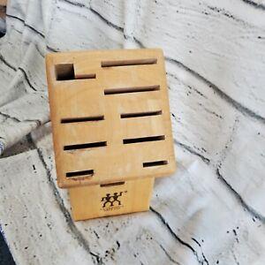 ZWILLING J.A.HENCKELS Bamboo 10 Slot Knife Block