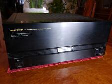 Onkyo M-5550 HighEnd Stereo Endstufe, Doppelmono Aufbau,schwarz, TOPP !!