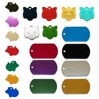 Pet Dog Cat Animal ID Tags Name Charm Tag With Ring Red,Mice C2J7
